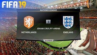 FIFA 19 - Netherlands vs. England (Nations League Semi-Final)