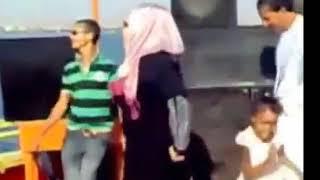 رقص بنات محجبات