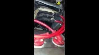 Posición de los cables de bujía Honda cbr 600 f