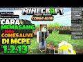 CARA MEMASANG MOD COMES ALIVE DI MCPE 1.2.13..!!! 😱 [Minecraft Pe Mod]
