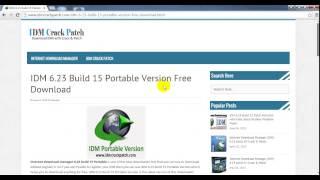 IDM 6.23 Build 15 Portable Version Free Download