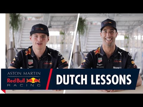 Max Verstappen s Dutch Language Lessons