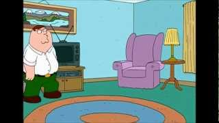 Family Guy - Peter forgets how to sit down (SWESUB) FULL HD