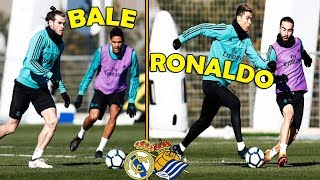 Real Madrid Training Before The Match VS Real Sociedad