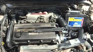 1989 Mazda Astina BG DOHC Rev Problem