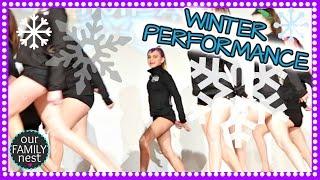 WINTER DANCE PERFORMANCE