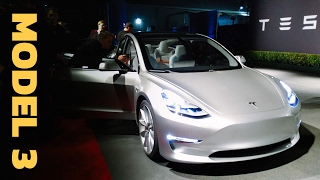 Tesla Model 3: WHAT WE KNOW