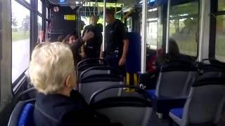 Winnipeg Transit - 2 natives on bus (PART 3 of 3) Cops show up.