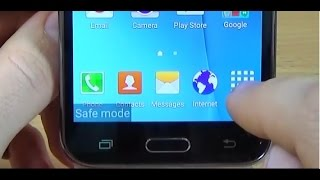Samsung Galaxy J5 J500F - How to enable SAFE MODE