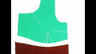 Blouse Patti Attachment Simple Method (DIY)