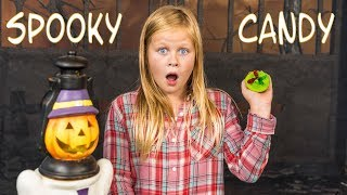 ASSISTANT Spooky Candy Gumballs and Cupcake Taste Test