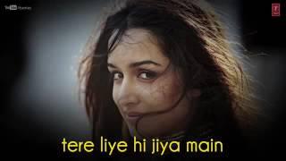 Tum Hi Ho  Aashiqui 2  (2013) Full HD 1080p Song Aditya Roy Kapoor and  Shraddha Kapoor