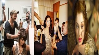 Exclusive UNSEEN Behind Pictures Of Aishwarya Rai Bachchan From Film Set & Photoshoot