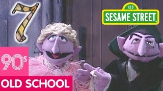 Sesame Street: The Count Sings About Seven   #ThrowbackThursday