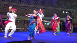 Maharashtra Mandal (Singapore) Presents Folk Mix at the Esplanade Holi Mela 2016