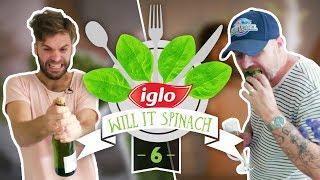 Super Snelle Spinoliebollen à la Jeukvogel & Koen - Will It Spinach #6