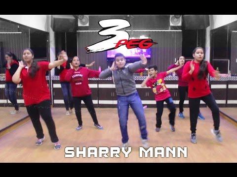 3 Peg Dance Performance | Sharry Mann | Basic Bhangra Steps | Kids Dance Performance