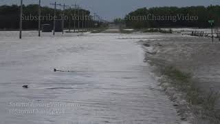 Flooding Closes Roads in Nickerson, KS - 5/21/2019