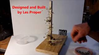 TEST OF LIFTING MECHANISM FOR MARBLE MACHINE