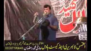 Zakir Haji Nasir  Abbas notak  majlis 10 April 2015 1st Barsi Allama Nasir Abbas Multan