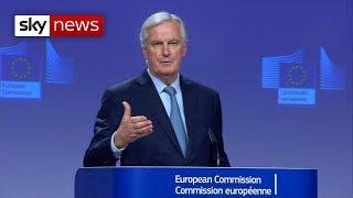 BREAKING NEWS: Barnier on the Brexit deal