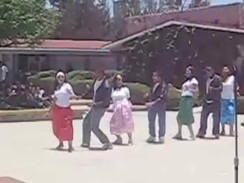Baile demo del dia del estudiante itszn rio grande zac