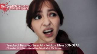Temubual Bersama Sara Ali   Pelakon Filem SONGLAP