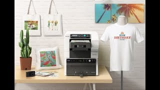 Anajet Ri 100 puts a T-shirt printer on your desktop in CES 2018