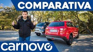 Dacia Duster 2018 vs Suzuki Vitara - Comparativa / Review / Prueba / Test en español   Carnovo