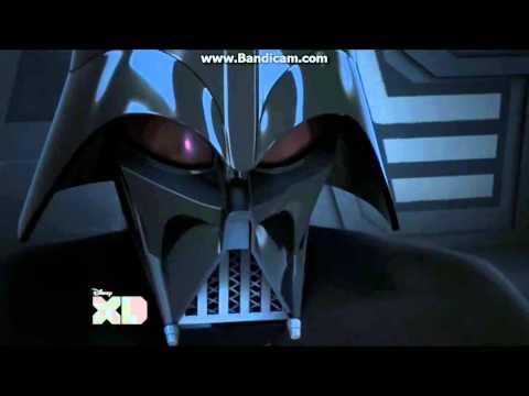 Star Wars Rebels Darth Vader and Emperor Palpatine.
