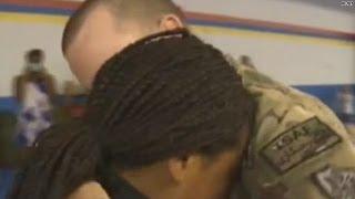 Sailor's surprise leaves teen black belt in tears