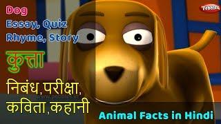 Dog Essay in Hindi | Dog Song in Hindi | Dog Story Hindi | Dog Quiz | Kutta | Animal Facts in Hindi