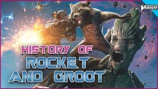 History Of Groot & Rocket Racoon!