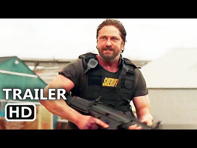 DEN OF THIEVES Official Trailer (2018) Gerard Butler, 50 Cent, Robbery Movie HD