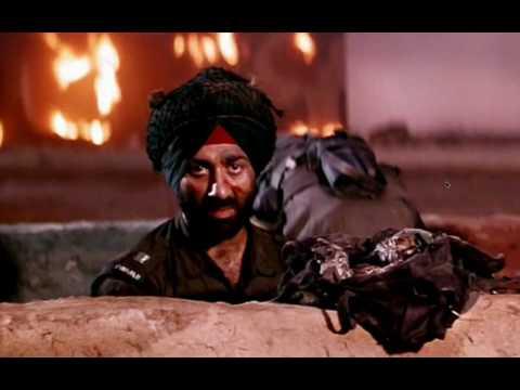 Hindustan Meri Jaan - A scene from Movie Border