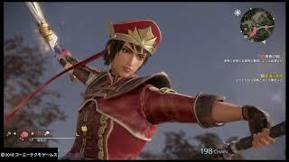 真・三國無双8 陸遜、朱然コンボ集/Lu Xun、Zhu Ran Combos(Dynasty Warriors 9)