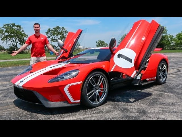 2018 Heritage Ford GT Review - Better Than A Huracan Performante?