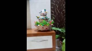 DIY Table top water fountain/ water fall