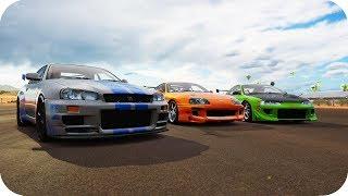 LOBBY DE JAPOS!! ASIAN SPORTS CAR LOBBY CON SUBS | FH3