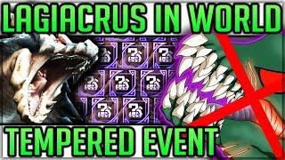 Lagiacrus in Game - Tempered Deviljho - Free Tempered Elder Dragon Farm - Monster Hunter World!