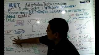 BUET Admission -2015-2016  l  Question Solve  (Bangla)  l Physics 1st Part :L-1
