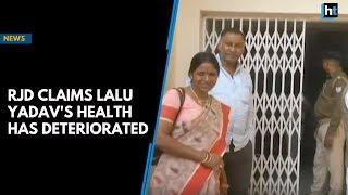 RJD claims Lalu Yadav