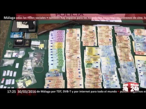 Málaga 24h TV - Dos septuagenarios detenidos en Málaga por tráfico de droga