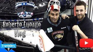 Meeting w/ Roberto Luongo Vlog \ Panthers Morning Skate @ MTS Centre [HD]