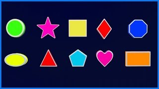 Learn Shapes | Names of Shapes | Learning & Education | Teddy & Timmy Poems for Kids