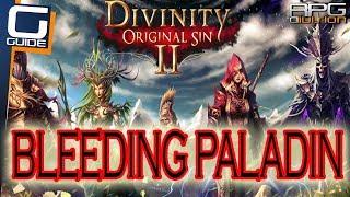 DIVINITY ORIGINAL SIN 2 - How to stop Paladin de Blanchefort's bleeding (Funny side quest)