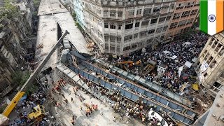 India bridge collapse in Kolkata was 'God's act, says company official - TomoNews