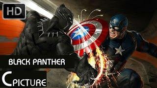 Top 5 Fight Scenes - BLACK PANTHER | Captain America Civil War HD