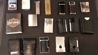 Lighter Collection - Cartier, S.T. Dupont, Zippo hkwinger