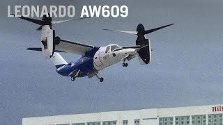 Leonardo's AW609 Test Pilot Describes What its Like to Fly a Tiltrotor – AINtv
